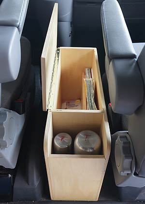Camperfixx Diy Act51 Box Between Front Seats Vw